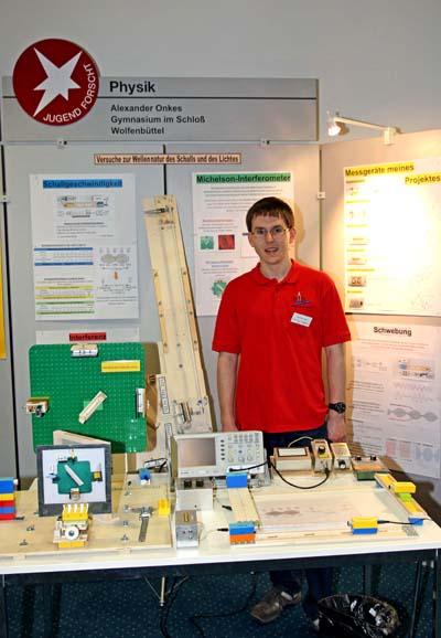 Alexander O. siegt im Bereich Physik