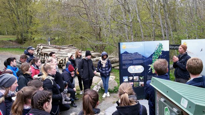 Exkursion im Stenshuvuds Nationalpark
